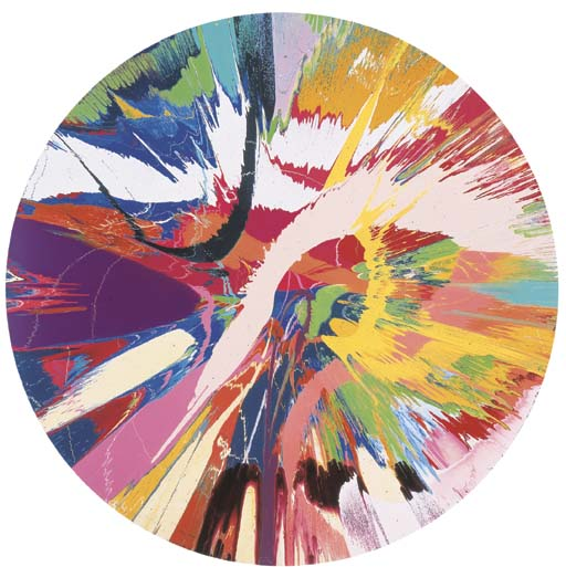 Damien Hirst-Beautiful, Four Cheese, Spicy, Quatro, Staggioni, Florentine, Michelangelo, Venetian Glass, Pamplona Painting-1997