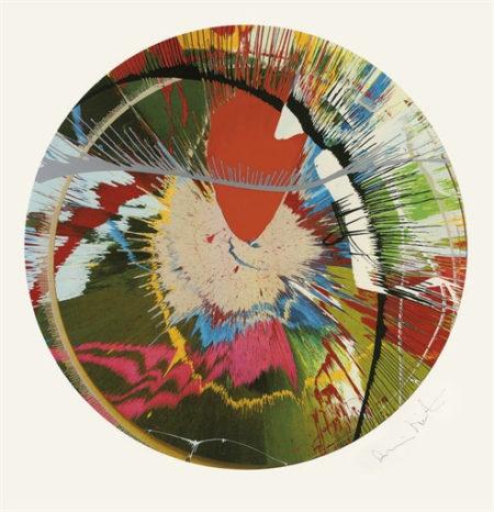 Damien Hirst-Beautiful, Galactic, Exploding-2001