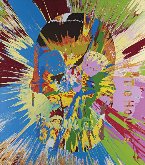 Damien Hirst-Beautiful Hours Spin Painting VI-2008