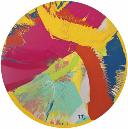 Damien Hirst-Beautiful, Hydrochloric, Non-functional, Expansive, Vortex, Whorl, Wizz Painting-1995