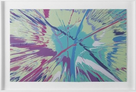 Damien Hirst-Beautiful Inertia Spin-2008