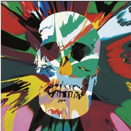 Damien Hirst-Beautiful Kali Psychopathy Intense Painting (With Extra Inner Beauty)-2008