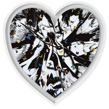 Damien Hirst-Beautiful Love Survival Painting with Beautiful Butterflies-2008