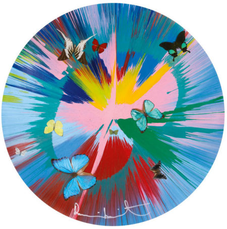 Damien Hirst-Beautiful Lovely Stuff You Make Me Feel All Gooey Like Candy Floss-2012
