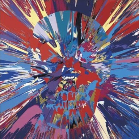 Damien Hirst-Beautiful Mider Intense Cathartic Painting (with Extra Inner Beauty)-2008