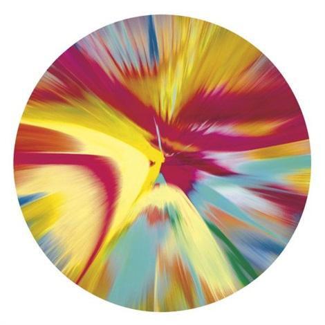 Damien Hirst-Beautiful Mind Bending, Spoon Bending, Gender Bending Painting-2008