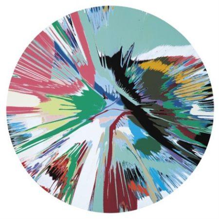 Damien Hirst-Beautiful Minty Fresh Painting-2008