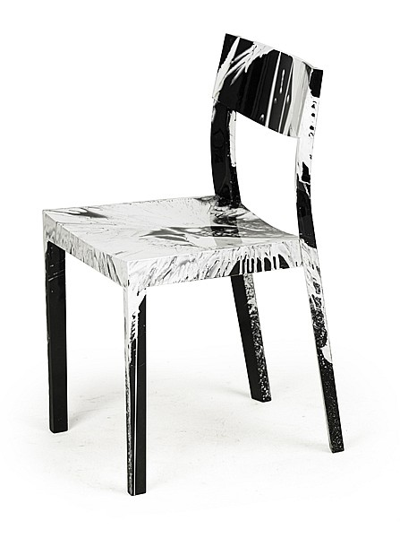Damien Hirst-Beautiful Put a Sock in It! Spin Chair-2013