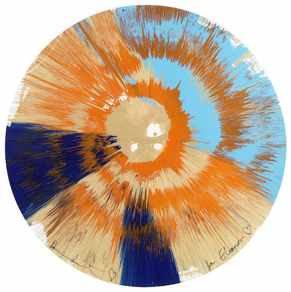 Damien Hirst-Beautiful Spin for Eleanor-2011