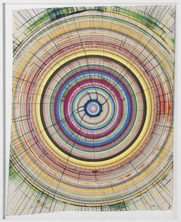 Damien Hirst-Beautiful Whirlymagig Drawing-2008