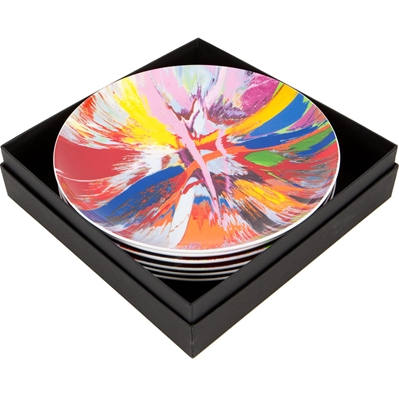 Damien Hirst-Beautiful amore spin plate box set-2012