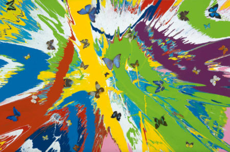 Damien Hirst-Beautiful Fornjot Mania Painting (Schone Fornjot Manie Gemalde)-2009