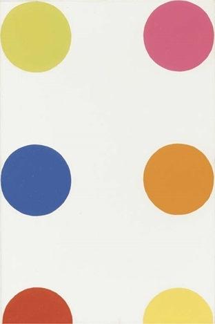 Damien Hirst-Biphenyleneacrylic Acid-1995