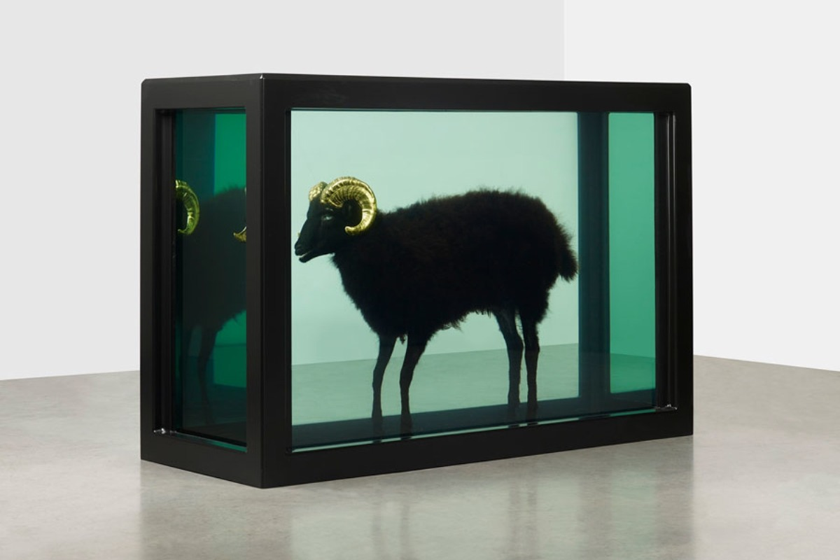 Damien Hirst art paintings love spot