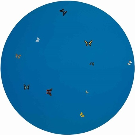 Damien Hirst-Blue Angel-2005