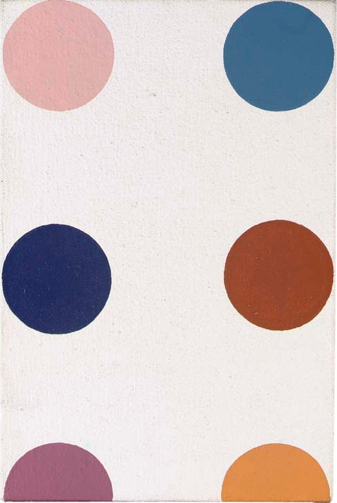 Damien Hirst-Blue Tetrazolium-1995