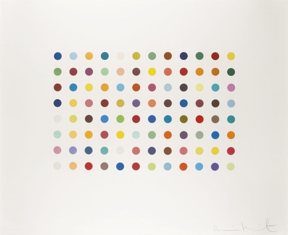 Damien Hirst-Bromphenol Blue-2005