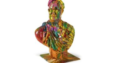 Damien Hirst - Bust of Frank, 2008