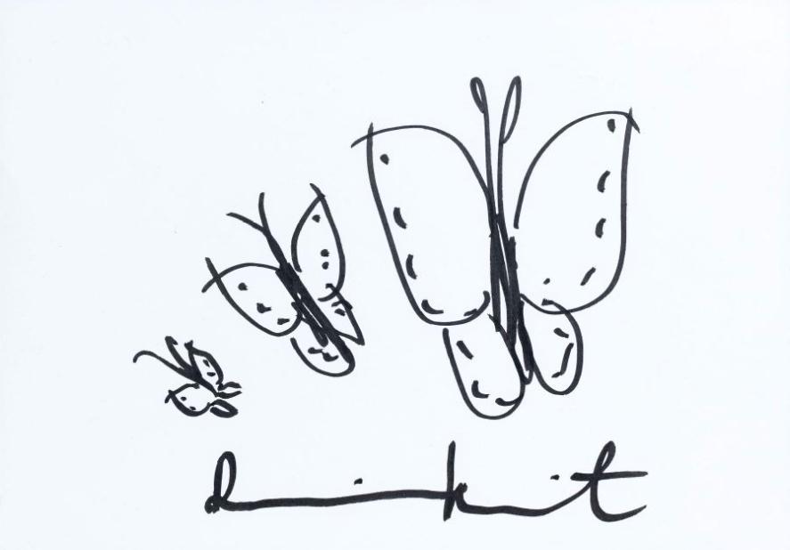 Damien Hirst-Butterflies-