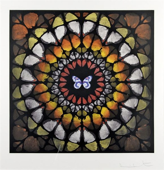 Damien Hirst-Chancel, from Sanctum-2009