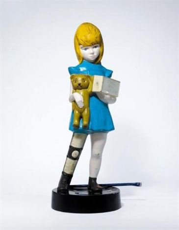 Damien Hirst-Charity (Maquette)-2004