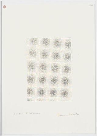 Damien Hirst-Cobalt Thiocyanate-2008