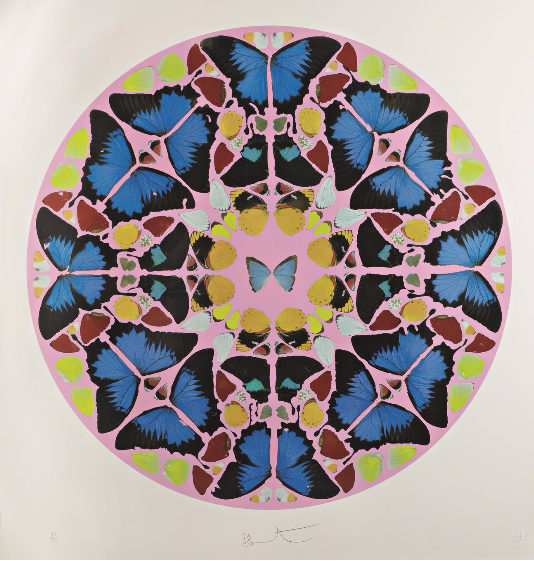 Damien Hirst-Coeli Enarrant (from Psalm Prints)-2010