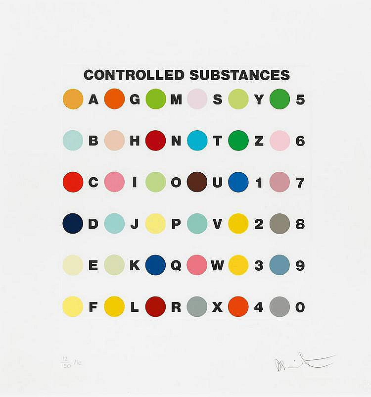 Damien Hirst-Controlled Substances Key Spot-2011