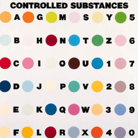 Damien Hirst-Controlled Substances-1994