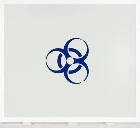 Damien Hirst-Danger Biological Hazard-2004