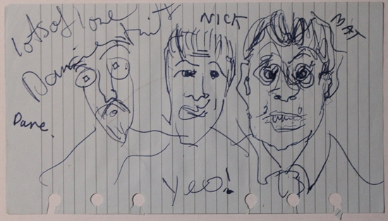 Damien Hirst-Dave, Nick and Mat Portraits-1999