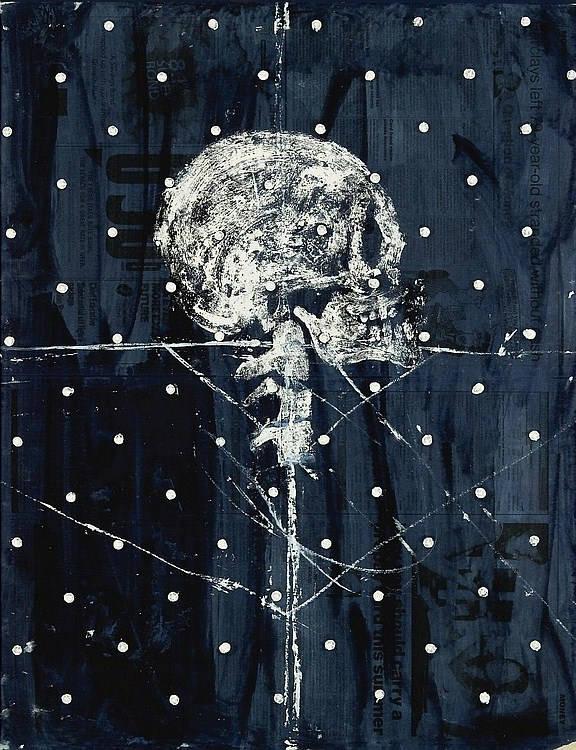 Damien Hirst-Dead Head III-2009