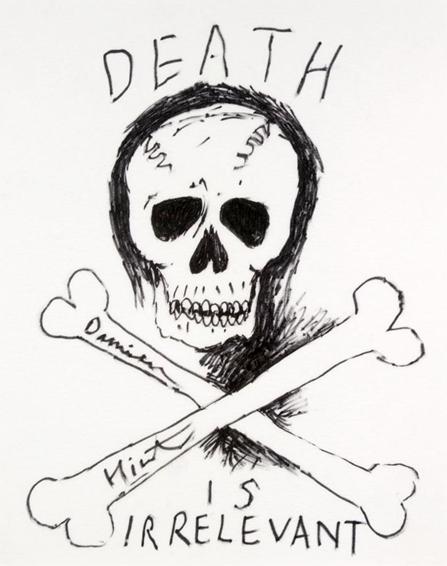 Damien Hirst-Death is Irrelevant-2003