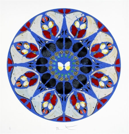 Damien Hirst-Deus, Deux Meus (from Psalm Prints)-2010