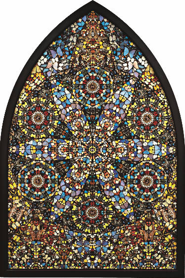 Damien Hirst-Disintegration, the Crown of Life-2006