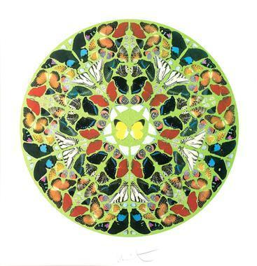 Damien Hirst-Domini est Terra (from Psalm Prints)-