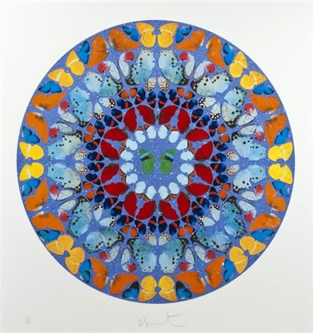 Damien Hirst-Domino Confido (from Psalm Prints)-2009