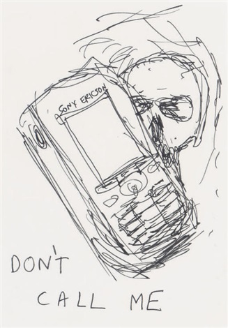 Damien Hirst-Don't Call Me-