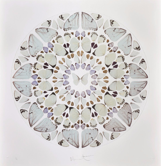 Damien Hirst-Exaudi Domine, from Psalm Prints-2009