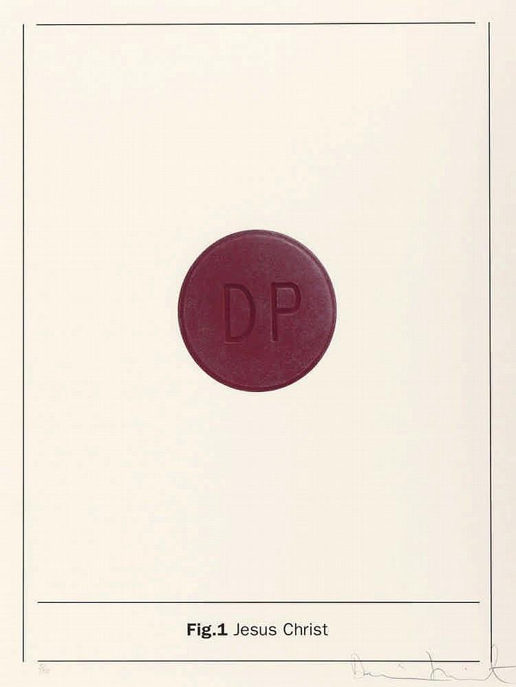 Damien Hirst-Fig.1 Jesus Christ (Aus: The Apostles)-2005