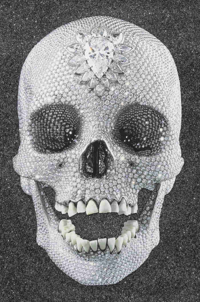 Damien Hirst-For The Love Of God, Enlightenment-2007