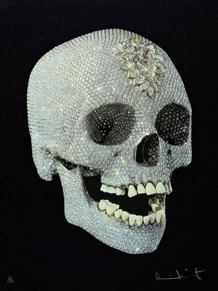 Damien Hirst-For the Love of God, Shine-2007
