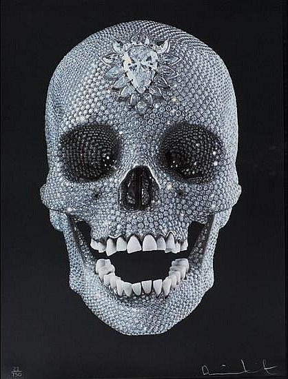Damien Hirst-For the Love of God, Wonder-2007