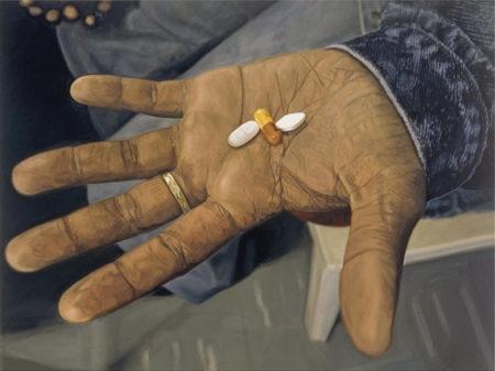 Damien Hirst-HIV AIDS, Drugs Combination-2006