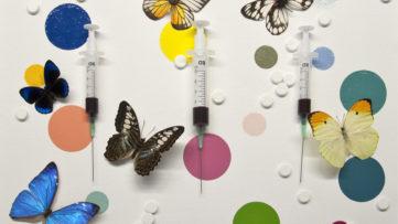 Damien Hirst exhibition, Galerie Koch