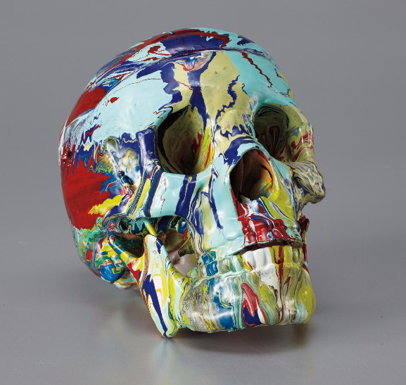 Damien Hirst-Happy Head-2007