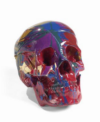Damien Hirst-Happy Head-2007