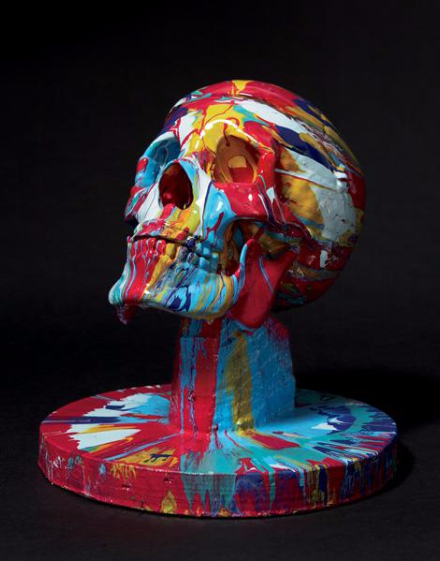 Damien Hirst-Happy Head No.7 with Base-2007