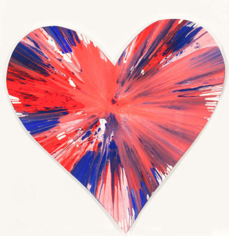 Damien Hirst-Heart Spin Painting-