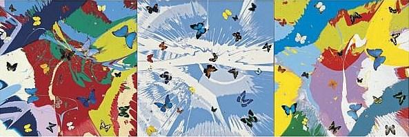 Damien Hirst-Heaven Can Wait-2008
